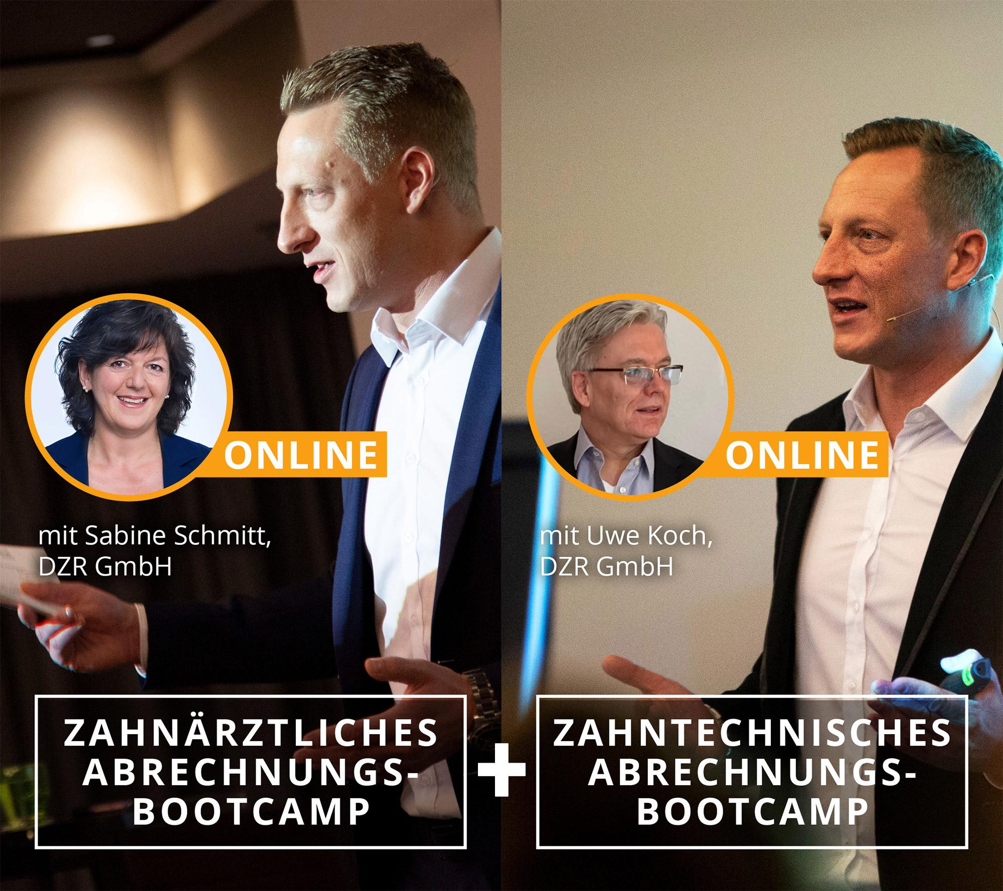 Zahnärztliches + Zahntechnisches Abrechnungs-Bootcamp13.03.2021 / 20.03.2021