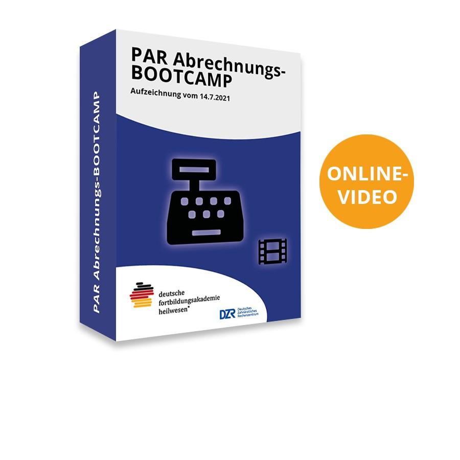 Aufzeichnung PAR Abrechnung-Bootcamp vom 14.7.2021